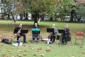 Auckland Saxophone Quartet - Saxophone Celebration series of concerts @ St Georges | Thames | Waikato | New Zealand