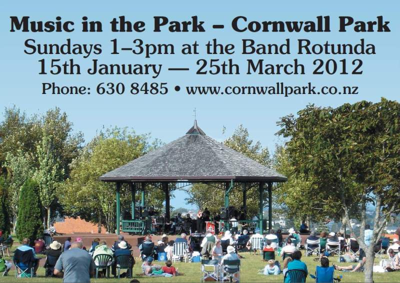 Cornwall Park - Music in the Park - Prohibition Big Band