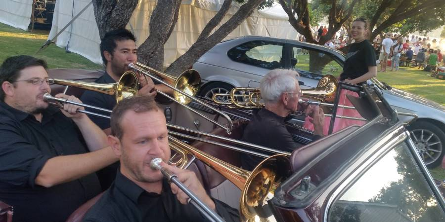 Big Band Trombone section - Scott's Landing
