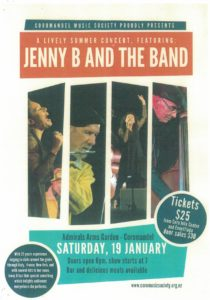 Jenny B and the Band at the Admiral's Arms in Coromandel @ Admiral's Arms Hotel Garden Bar | Coromandel | Waikato | New Zealand
